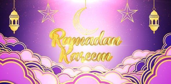قالب آماده ماه رمضان